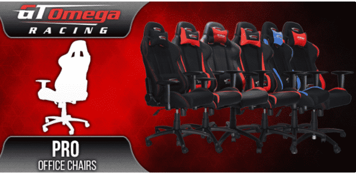 GT Omega Racing Chaises