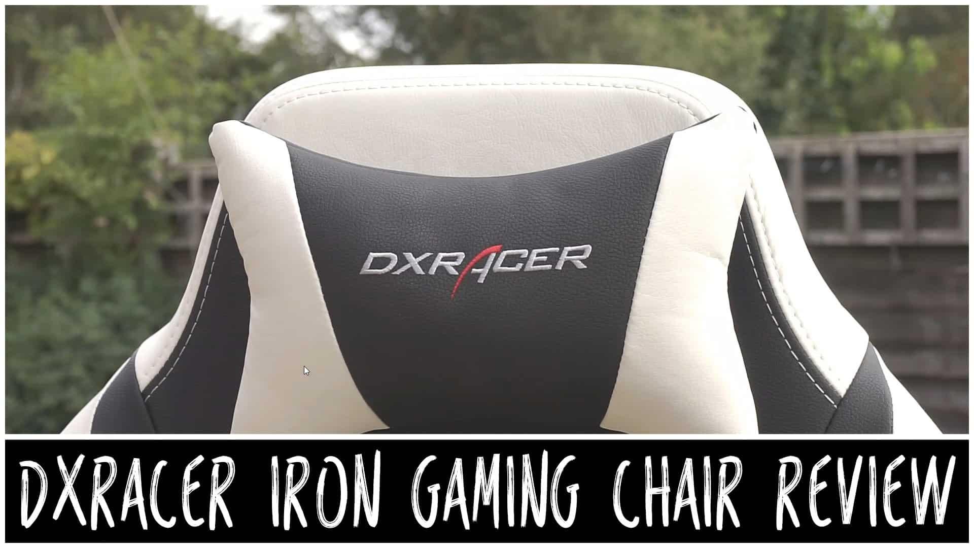 Dxracer iron achat fauteuil gamer dxracer iron series for Chaise gamer pas cher