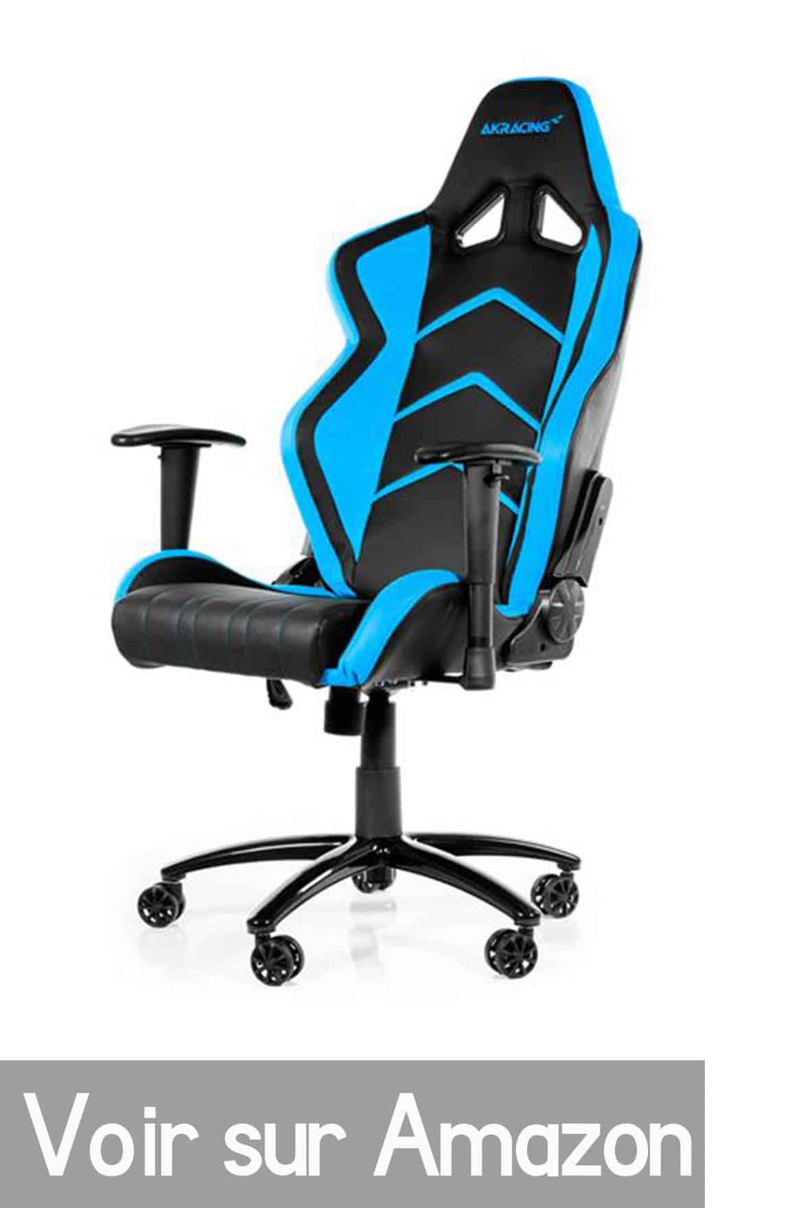 Chaise gamer fauteuil gamer meilleurs fauteuils gamer for Chaise gamer amazon