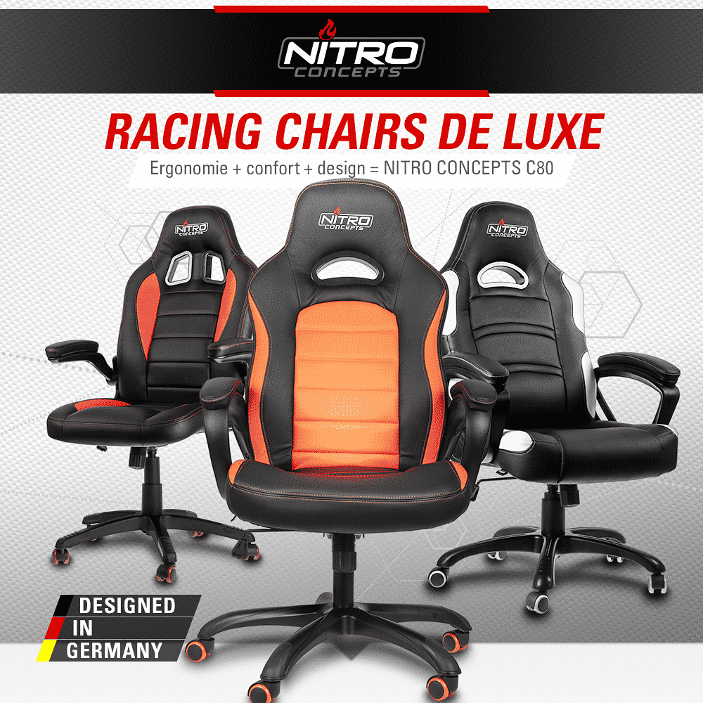 fauteuil gaming nitro concepts
